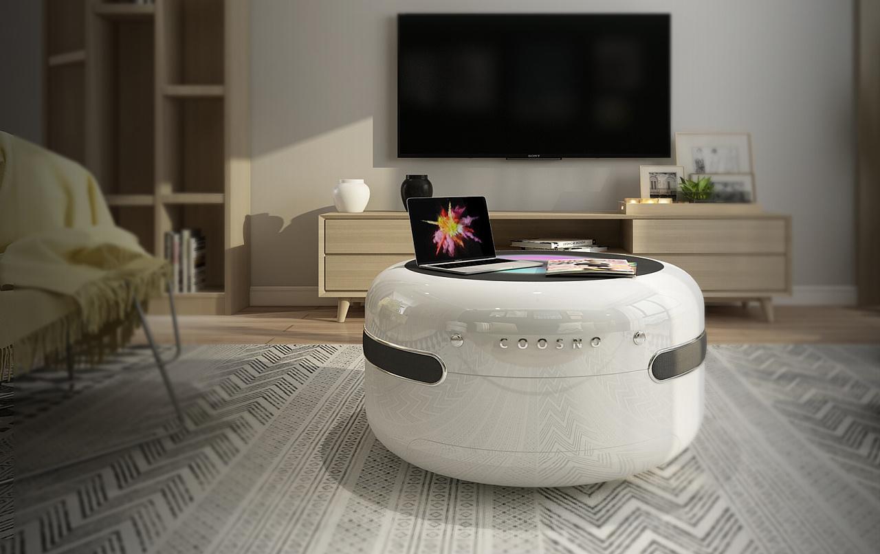 Redefine Smart Coffee Table 重新定义智能咖啡桌 工业 产品 人机交互 Djjmial