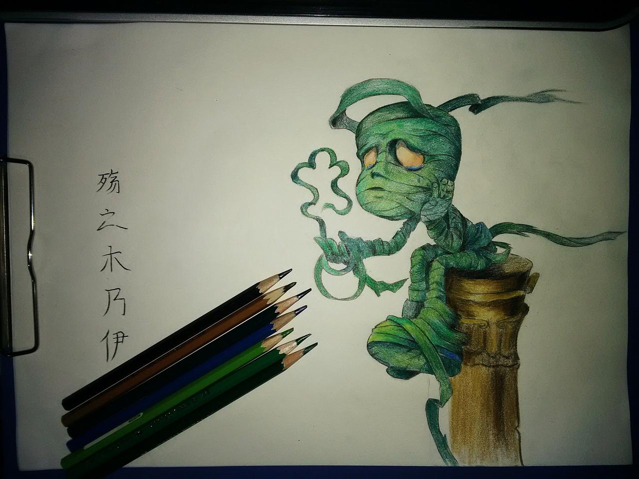 彩铅手绘|插画|插画习作|贺小贱 - 原创作品 - 站酷