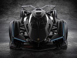 车模也能拍大片1:18兰博基尼V12
