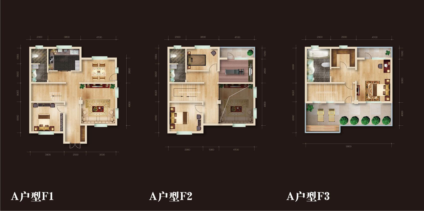 楼盘户型平面图设计