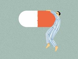 《我不是药神》插画海报