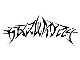 帮朋友的极端金属音乐微信群做的群标