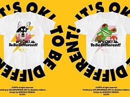 "Kappa×金羽翼×MOROCO联名款""不同""短袖T恤设计"