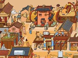 海尔热水器手绘活动页面