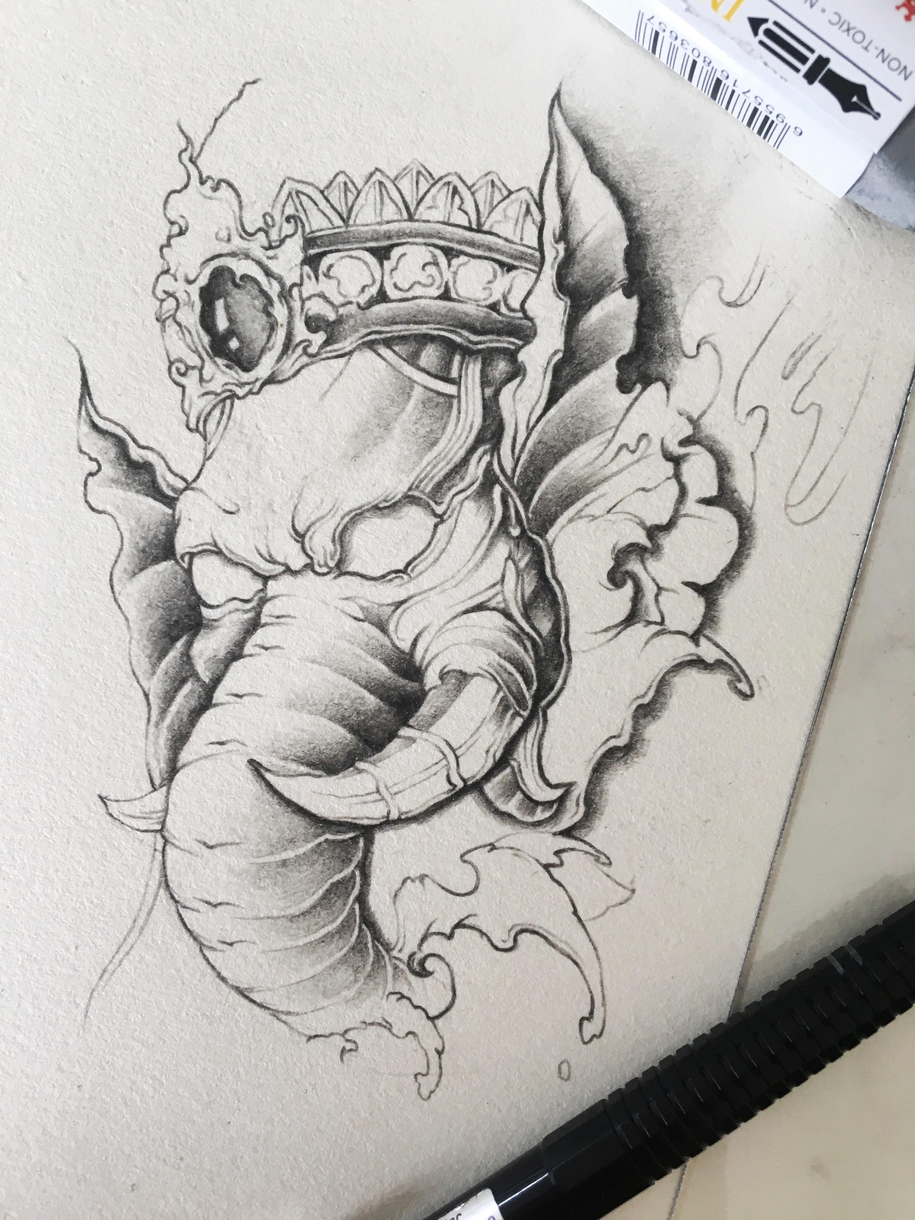 纹身手稿2017分享展示