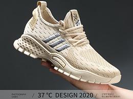 运动鞋拍摄