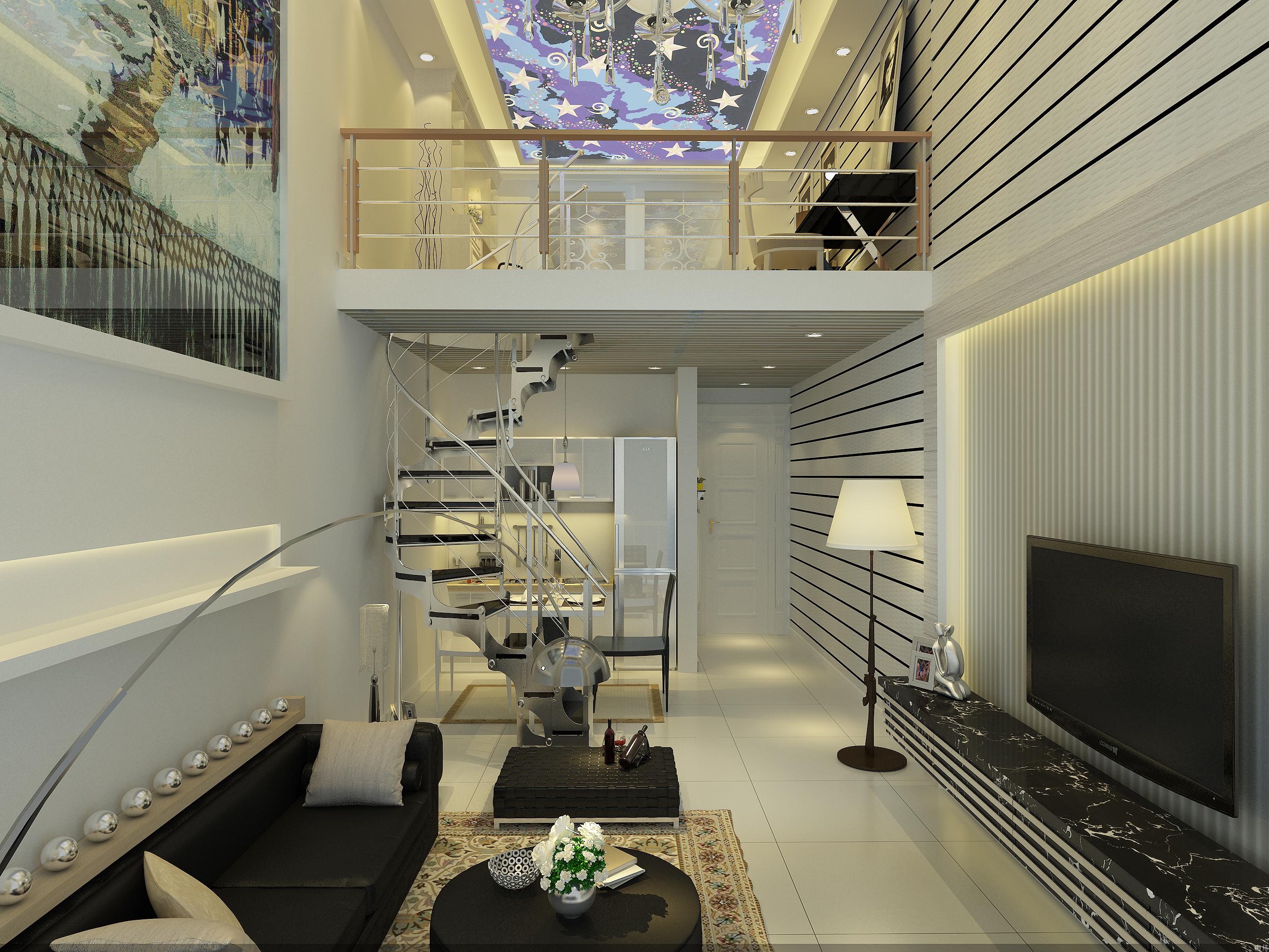 loft复式青年公寓(万达广场)