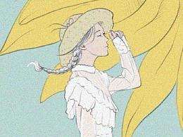 鲜花花语插画设计