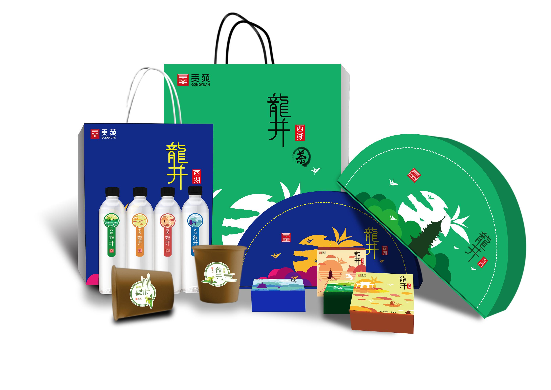 龙井茶系列包装