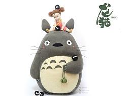 囍囍的羊毛毡 之 大龙猫