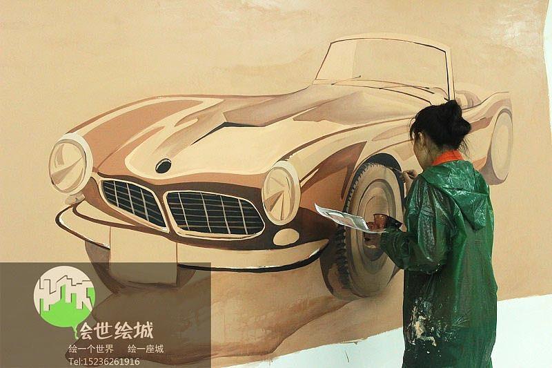 车库墙体彩绘