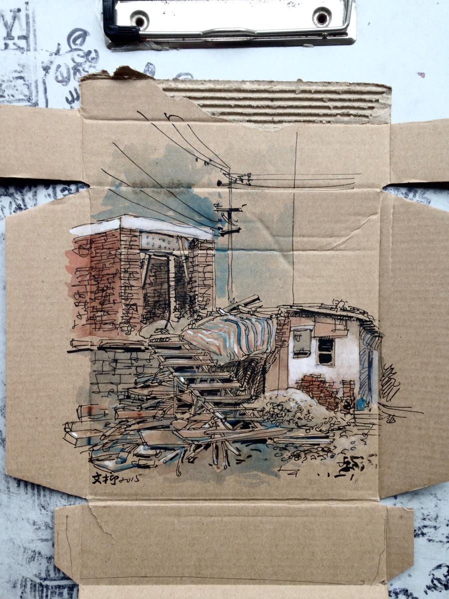 查看《捡捡垃圾,画点小画》原图,原图尺寸:2408x3211