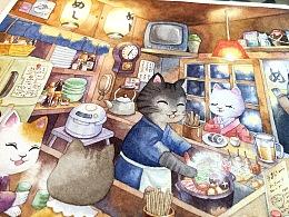 :cat:深夜食堂