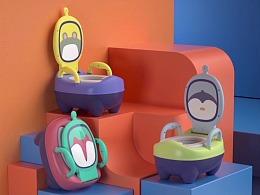 【蓝奇宝贝座便器】创意视觉动画——巨人谷制作