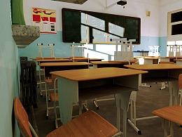 《教室》–Maya 作品