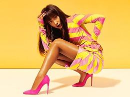 明星吉克隽逸时尚杂志风尚大片-时尚调色暖色调