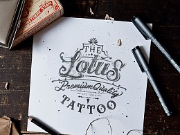 Lotus Tattoo Logo Design