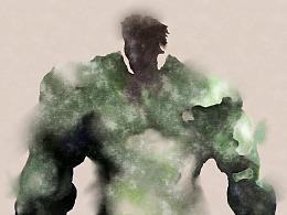 水彩绿巨人