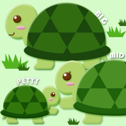 """佩家有三只""""龟星人"""" 会自己爬到阳台晒太阳"""
