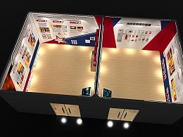 安全消防科普展馆展厅 3D效果图