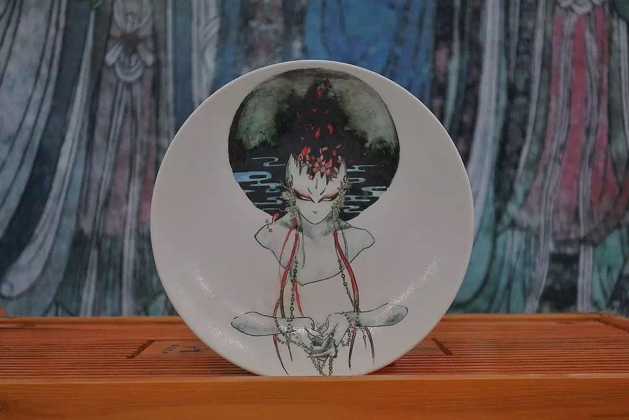 陶瓷摆件|手工艺|工艺品设计|白菇凉 - 原创作品图片