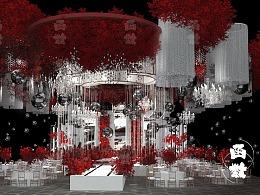 函数-银红时尚婚礼案例