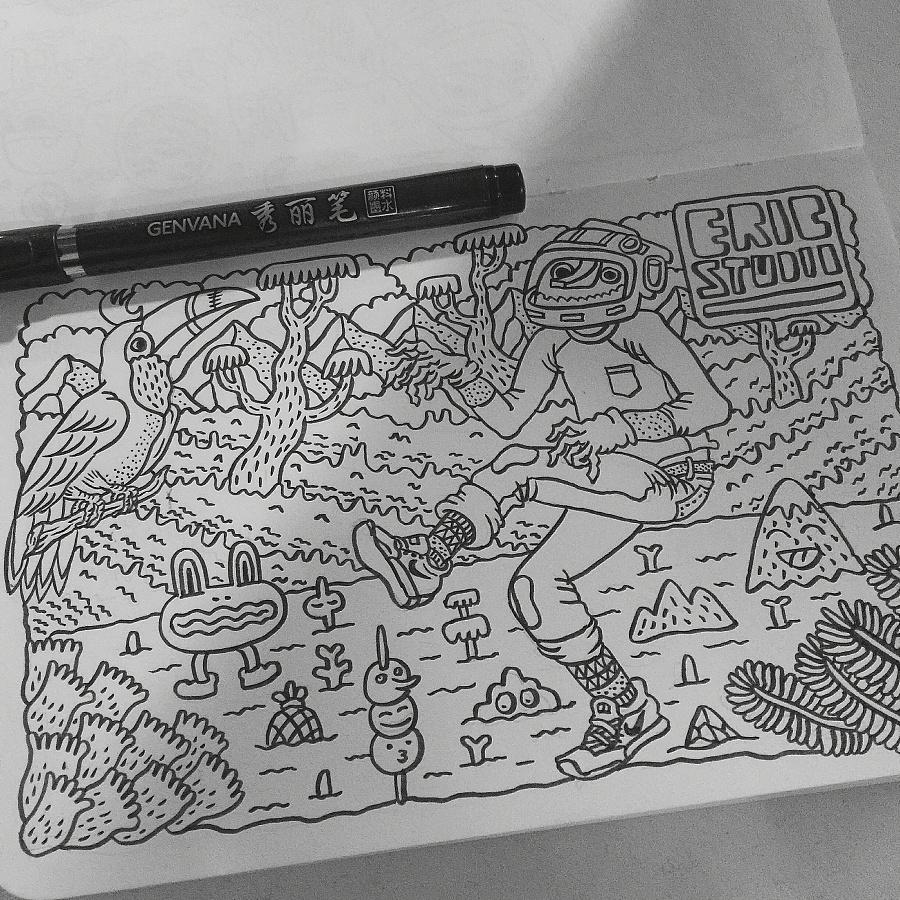 查看《匹诺曹系列插画-EricStudio》原图,原图尺寸:2208x2208