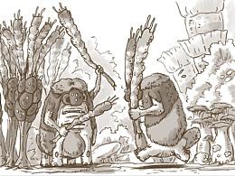 空想宇宙生物百科:咕噜毛人