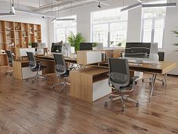 一组办公家具