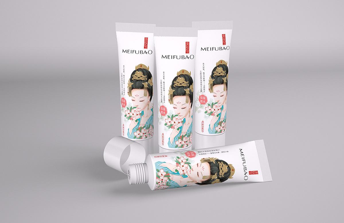 《美肤宝》护肤品包装品牌设计展示图片