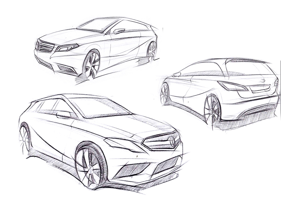 汽车手绘|交通工具|工业/产品|jamay - 原创设计作品