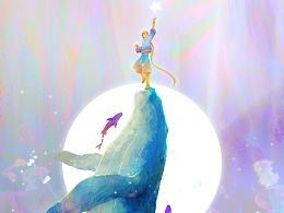 鲸鱼与小王子