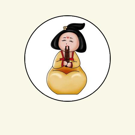 原创作品:唐朝仕女图图片