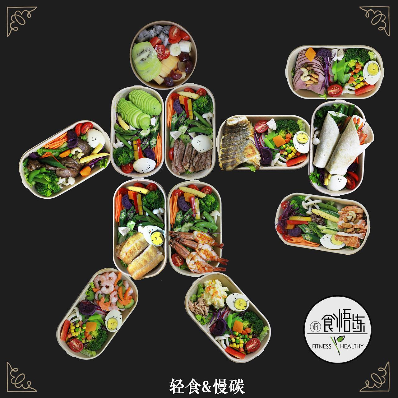 营养餐健身餐宣传|海报|高中|七爷原创-饶命作平面太湖强化班图片