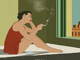 布林插画电影海报系列