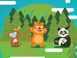 FinalB系列动画——太空虎儿童美术教育系列课程动画