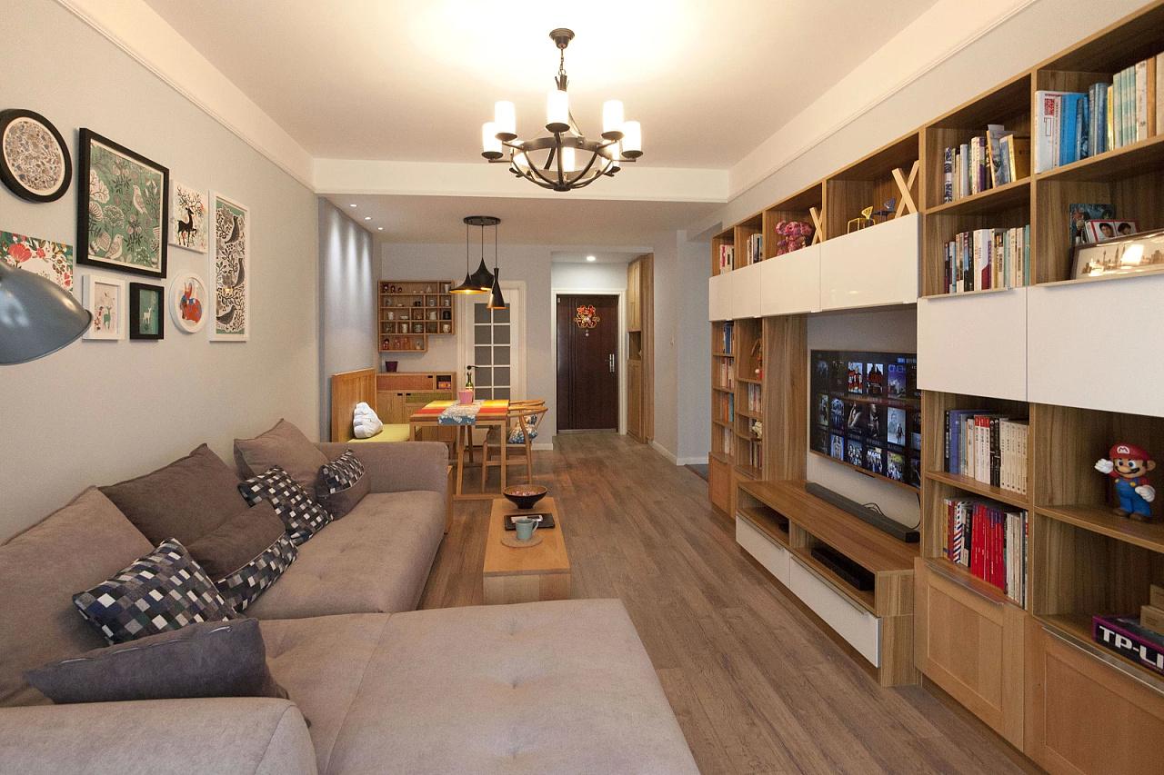 我的北欧风格小家|空间|室内设计|cdlight - 原创作品