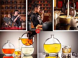 成都美食拍摄茶饮品拍摄特色唐风模特中国茶饮品摄影