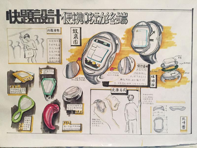 马克笔手绘练习|工业/产品|生活用品|z扎扎a - 原创