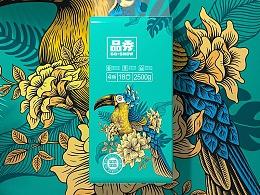 护理佳×蓝色盛火:品秀生活,鸟语花香!