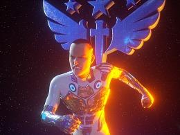 智成笔文化-星际超能海报11