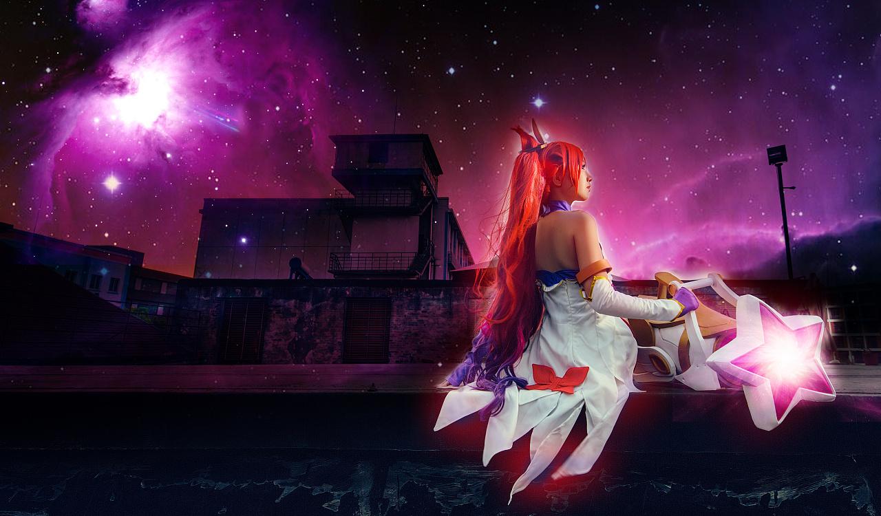 英雄联盟魔法少女金克丝