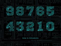 科技感字体 提供字体下载 给有帮助的人