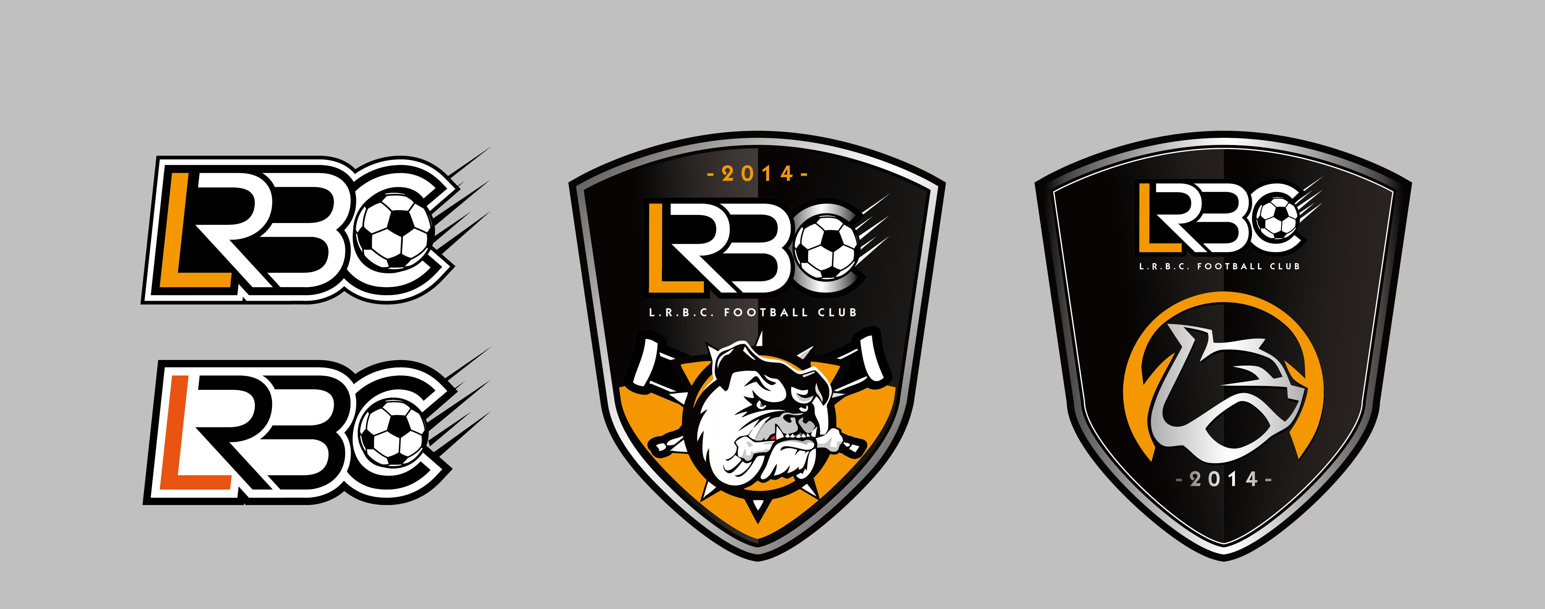 lrbc业余足球队队徽 球衣设计图片
