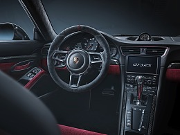 PORSCHE 911GT3 RS INTERIOR