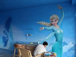 墙绘——冰雪奇缘