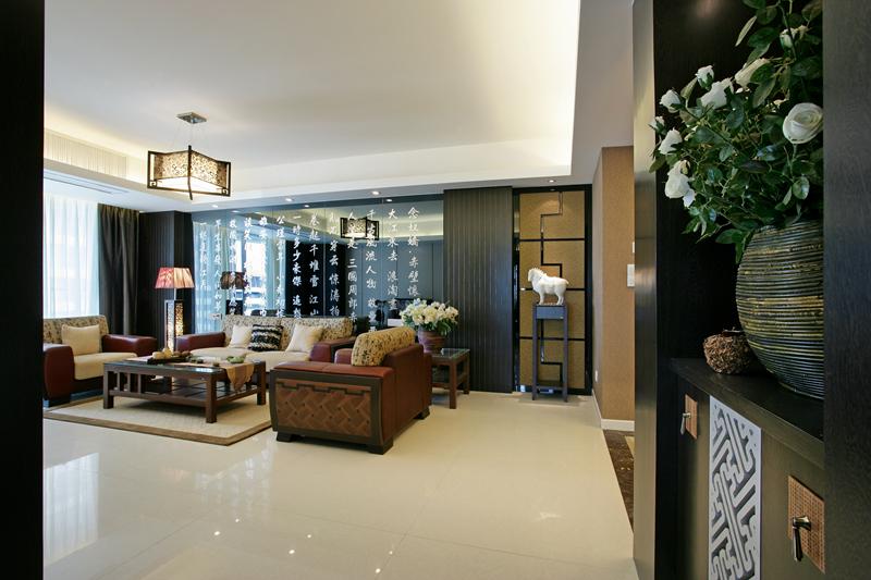 雅居乐-新中式|空间|室内设计|唐卡装饰石艳斌 - 原创图片