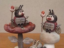 小瓢虫国王-库琴-Moil's handmade