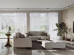 一套现代客厅