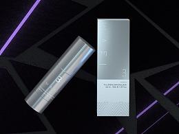 还是一组C4D化妆品包装效果图
